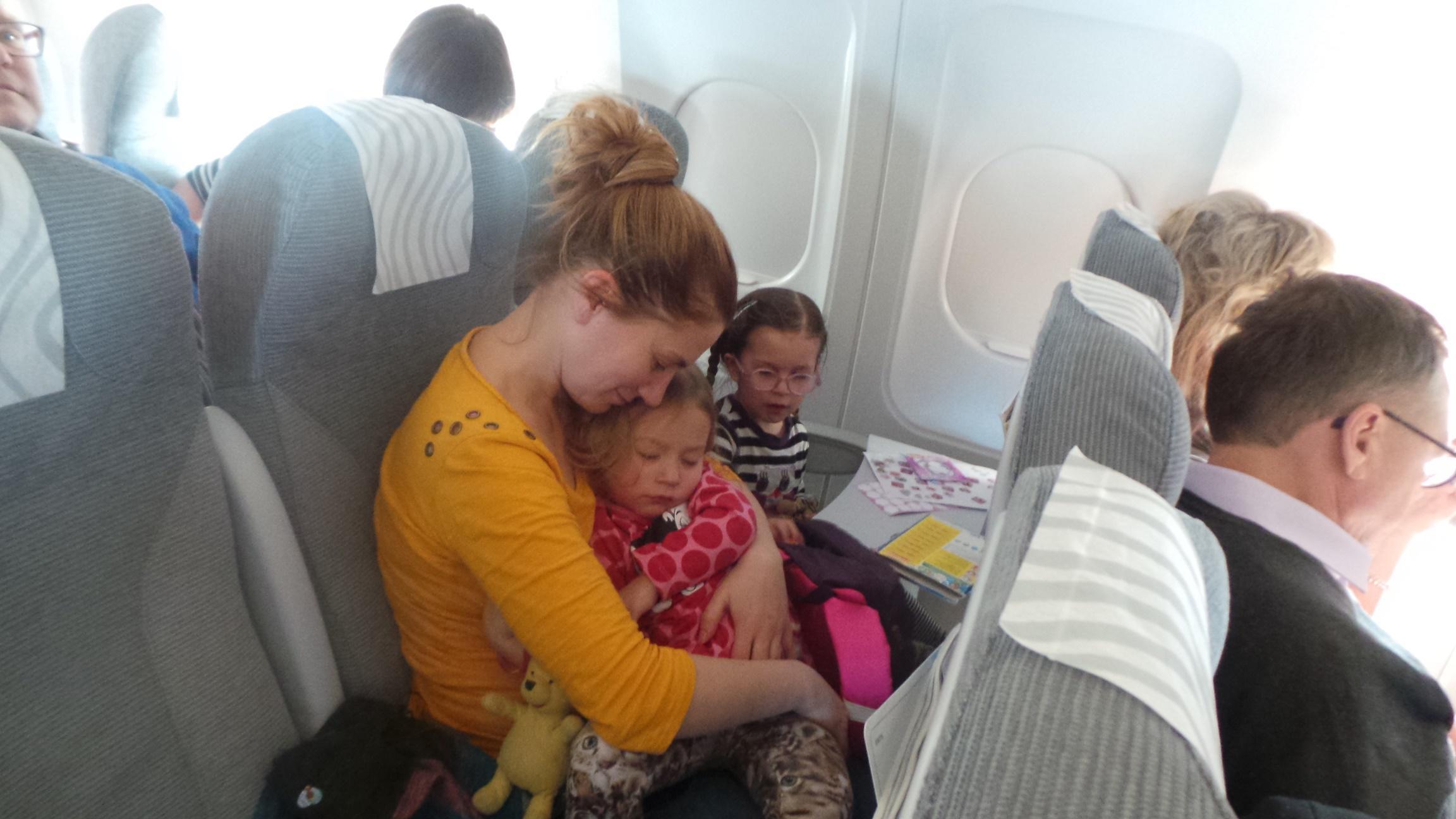 Lentokoneessa korviin sattuu