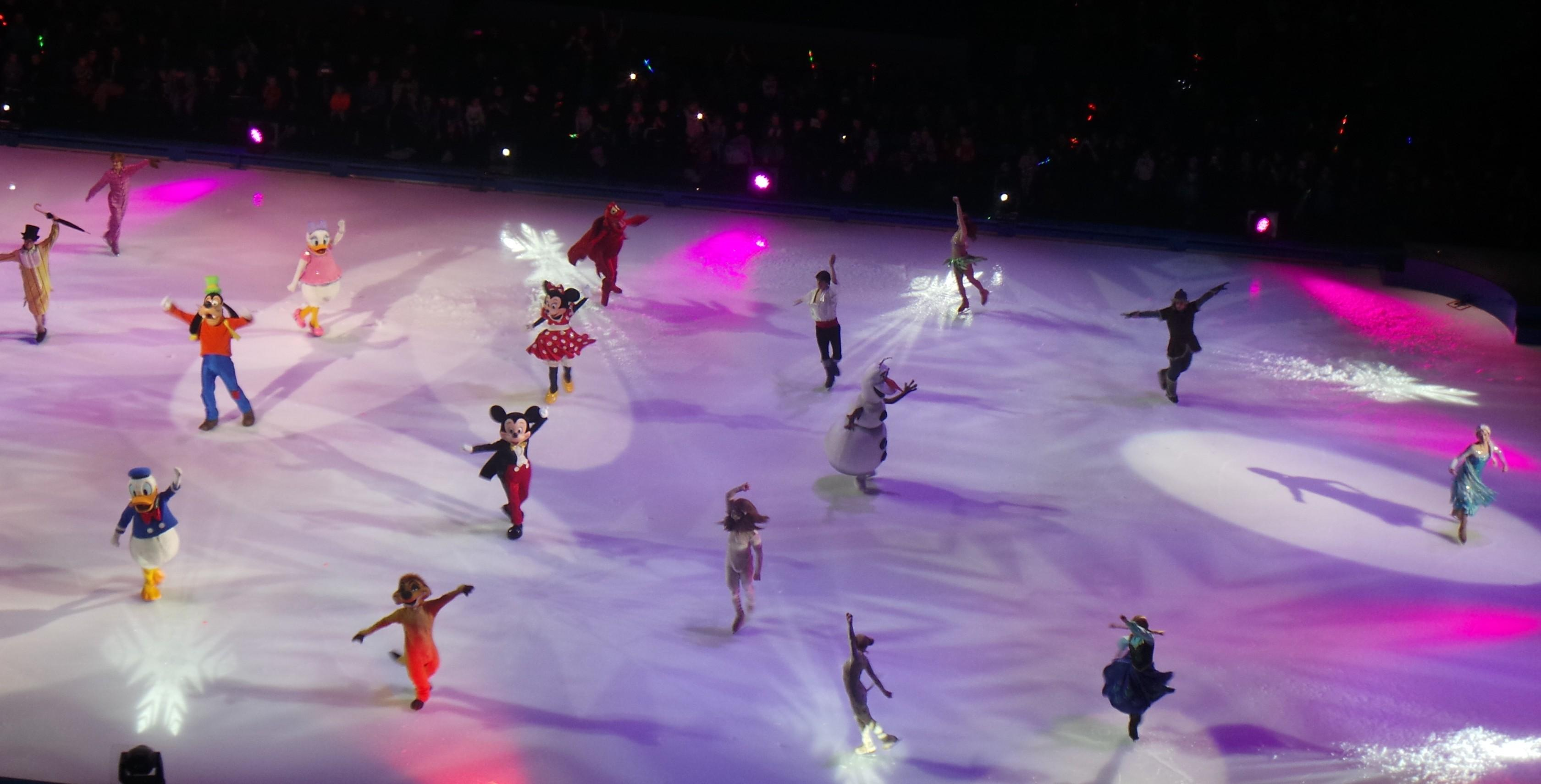 disney on ice kaikki