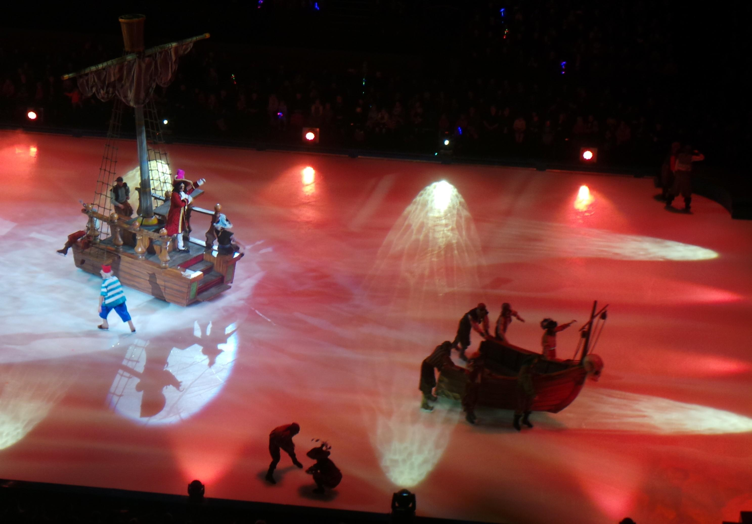 disney on ice kapteeni koukku