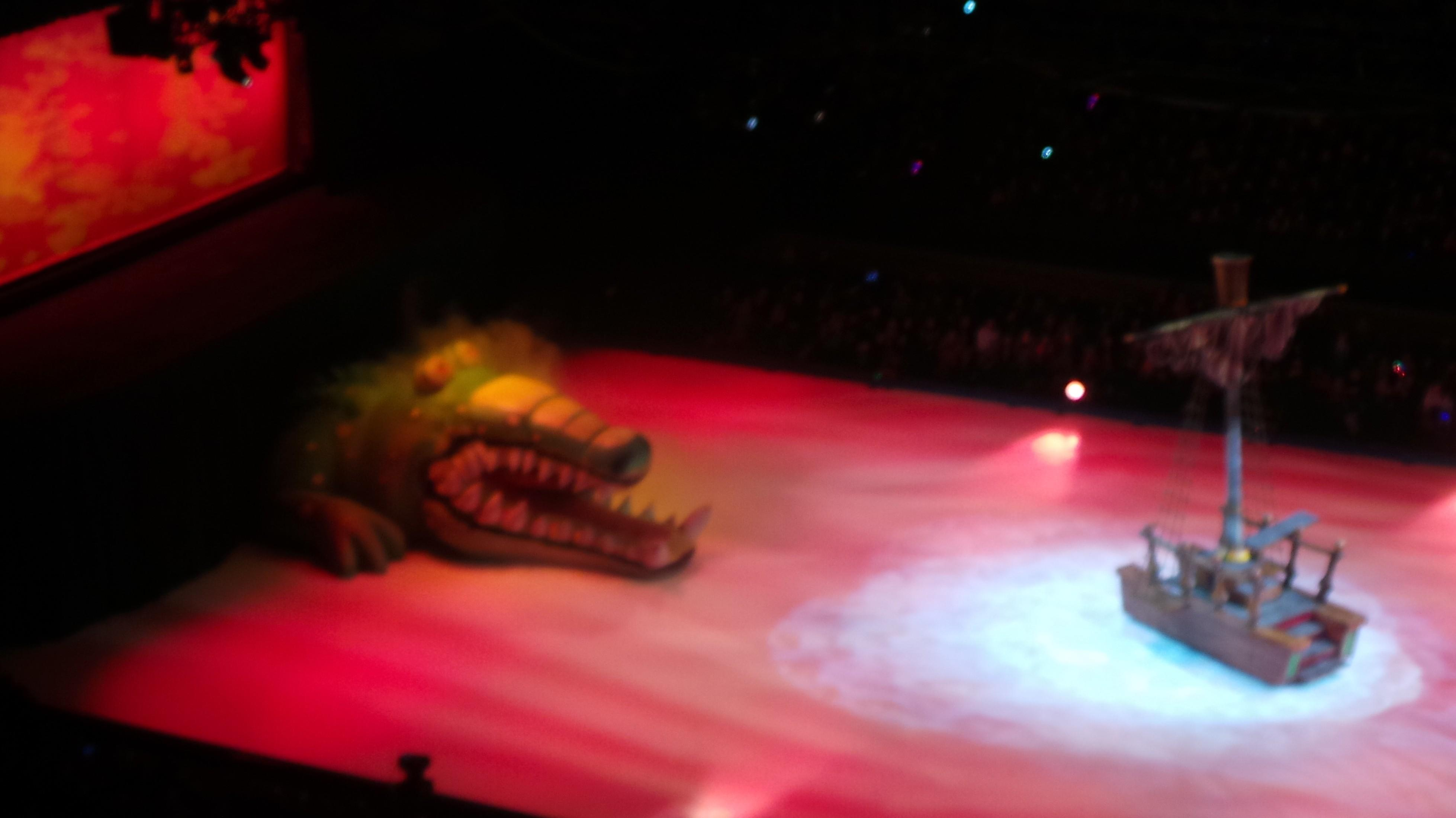krokotiili disney on ice